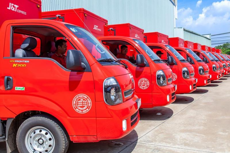 J&T Express - hình ảnh từ website jtexpress.vn