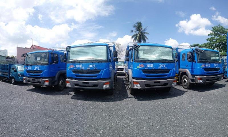 công ty vận tải Huệ Duy - hình ảnh từ website vantaihueduy.com